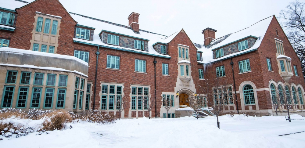 Snowy Residence Hall