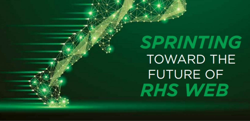 Sprinting Toward the Future of RHS Web