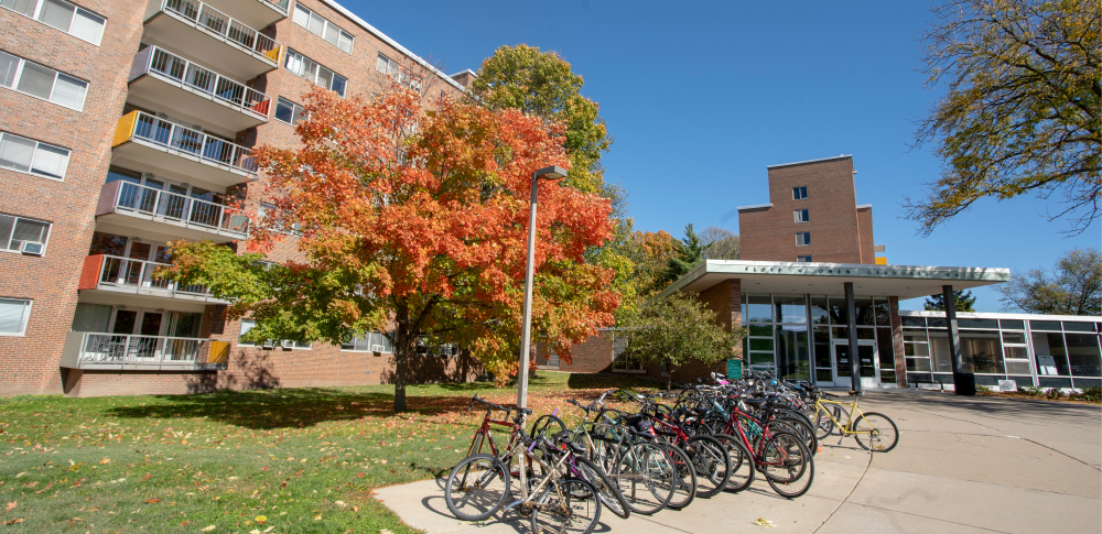 Owen Hall in the Fall