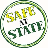 Safe at State Logo